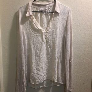 An off white blouse